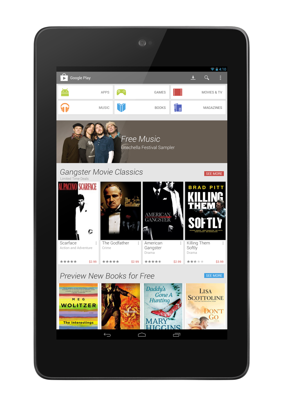 Google comienza a etiquetar aquellas apps optimizadas para tablets en Google Play