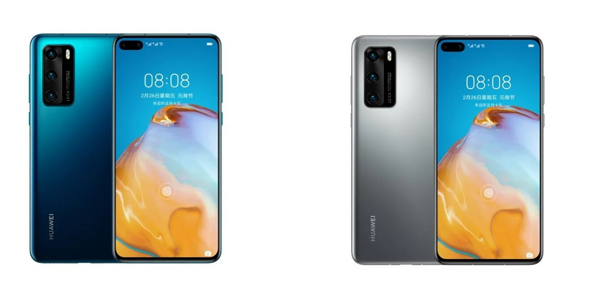 Huawei P40 4G colores